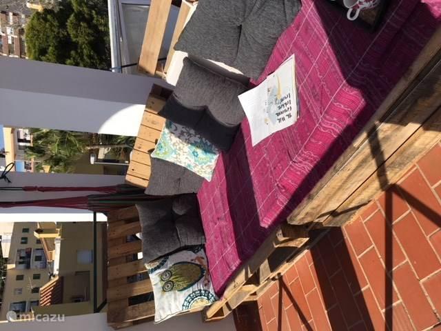 Lounge op dak terras