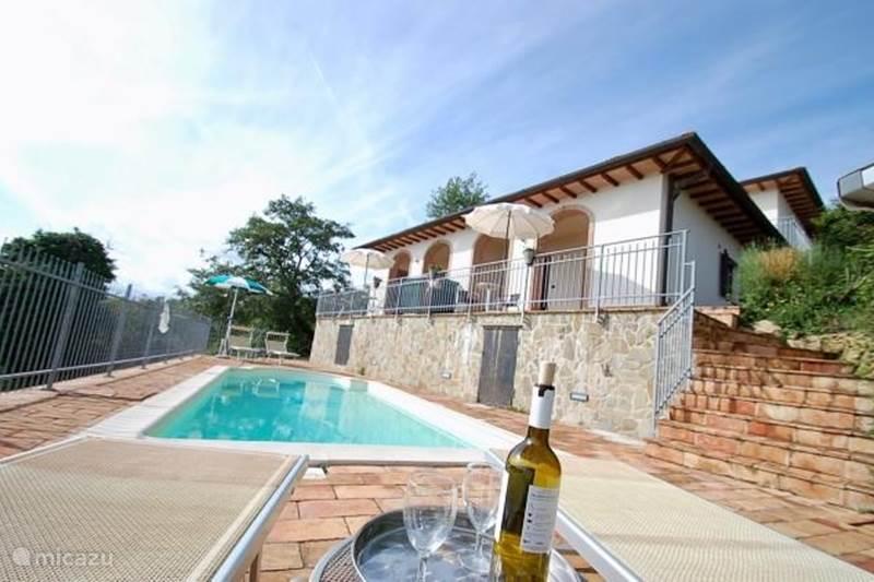 Vakantiehuis Italië, Umbrië, Lisciano Niccone Appartement Villa Gosparini appartement Umbrië