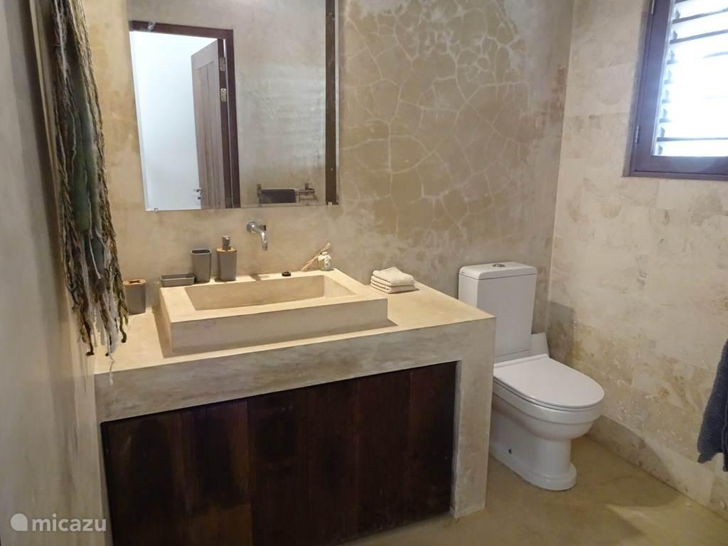 badkamer met douch