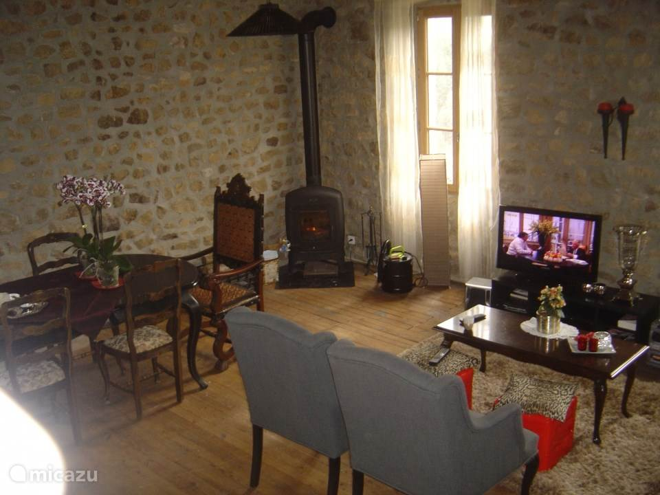 Vakantiehuis Frankrijk, Ardèche, Saint-Privat Landhuis / Kasteel Gite 'La Grange à Foin'