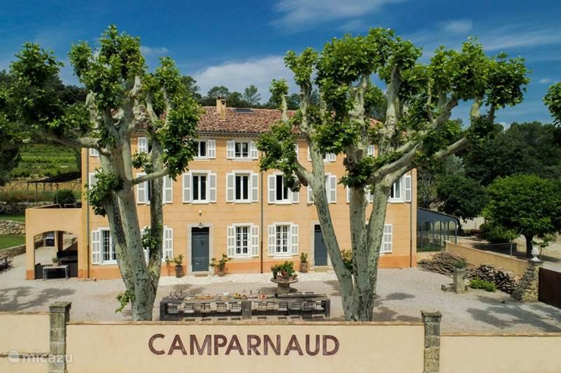 Vakantiehuis Frankrijk, Var, Carcès Landhuis / Kasteel Château Camparnaud