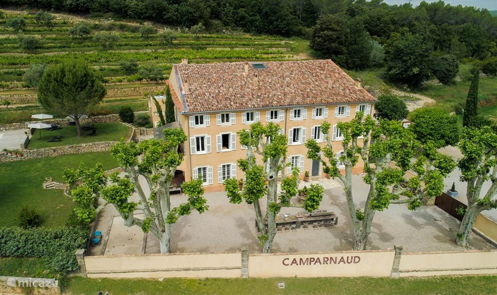 Vakantiehuis Frankrijk, Provence, Carcès Landhuis / Kasteel Château Camparnaud