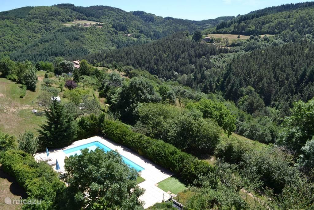 Vakantiehuis Frankrijk, Ardèche, Saint-Privat - bed & breakfast B&B 'Chapel' Chateau du Besset