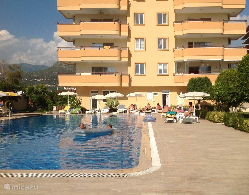 Vakantiehuis Turkije, Turkse Rivièra, Mahmutlar appartement Mahmutlar Euroresidence (Alanya)
