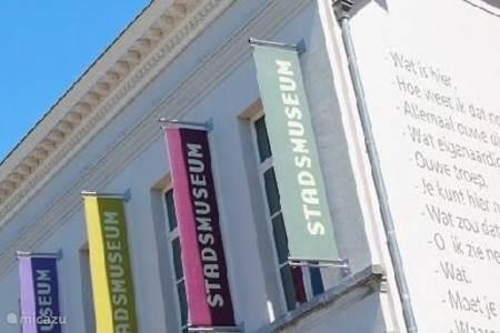 Stadsmuseum in het centrum van Lokeren