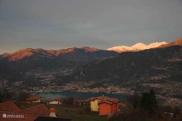 Vakantiehuis Italië, Iseomeer, Pisogne Appartement Bellavista Grignaghe (Lago d'Iseo)