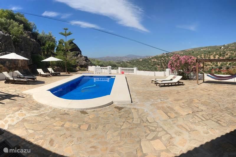 Vakantiehuis Spanje, Andalusië, Alcaucin Villa Casa La Roca