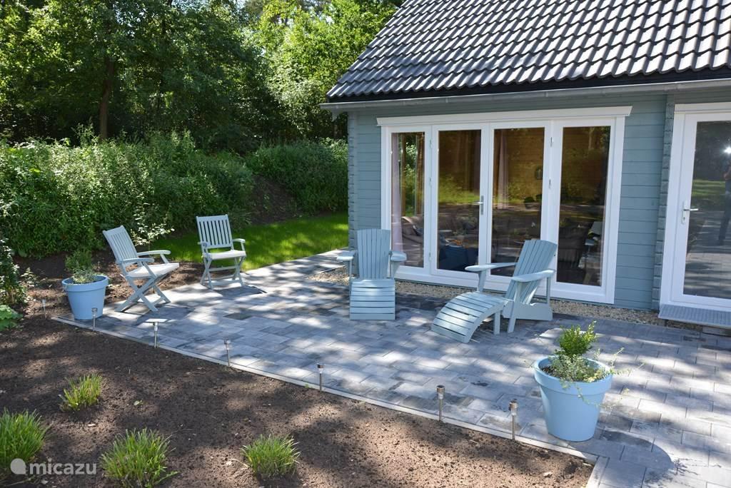 Vakantiehuis Nederland, Drenthe, Spier Blokhut / Lodge Zweedse sfeer vakantie