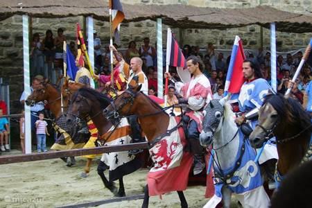 riddertoernooi in Carcassonne