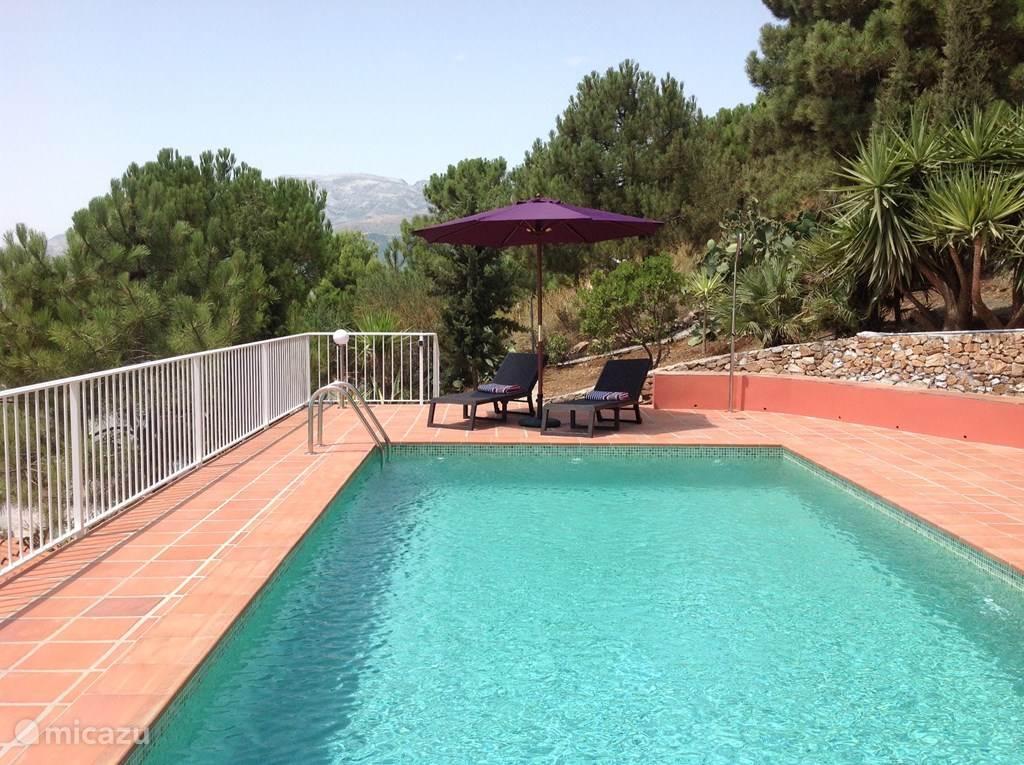 Vakantiehuis Spanje, Andalusië, Cómpeta vakantiehuis Casa buena vista