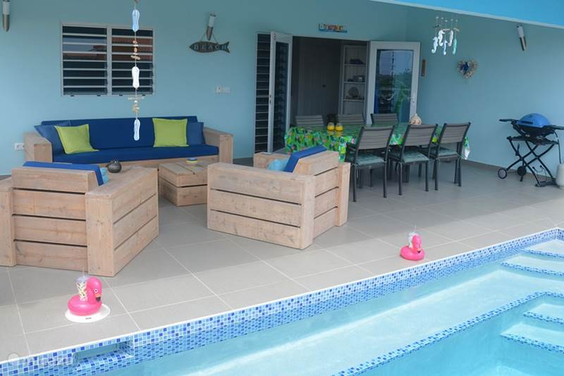 Vacation rental Curaçao, Banda Abou (West), Fontein Villa Last minute July + August, Flamingo