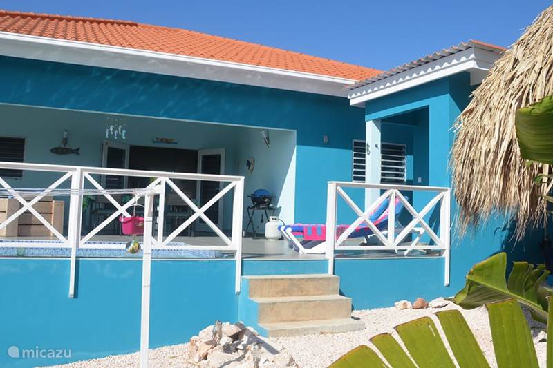Vakantiehuis Curaçao, Banda Abou (west), Fontein Villa Villa Flamingo met  privé zwembad