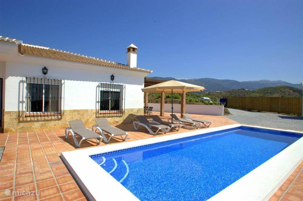 Vakantiehuis Spanje, Andalusië, Canillas De Albaida villa Casa del mar