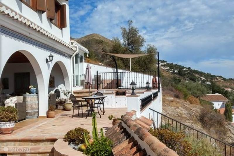 Vakantiehuis Spanje, Andalusië, Cómpeta Bed & Breakfast Familiekamer 4 pers Casa Roble B&B