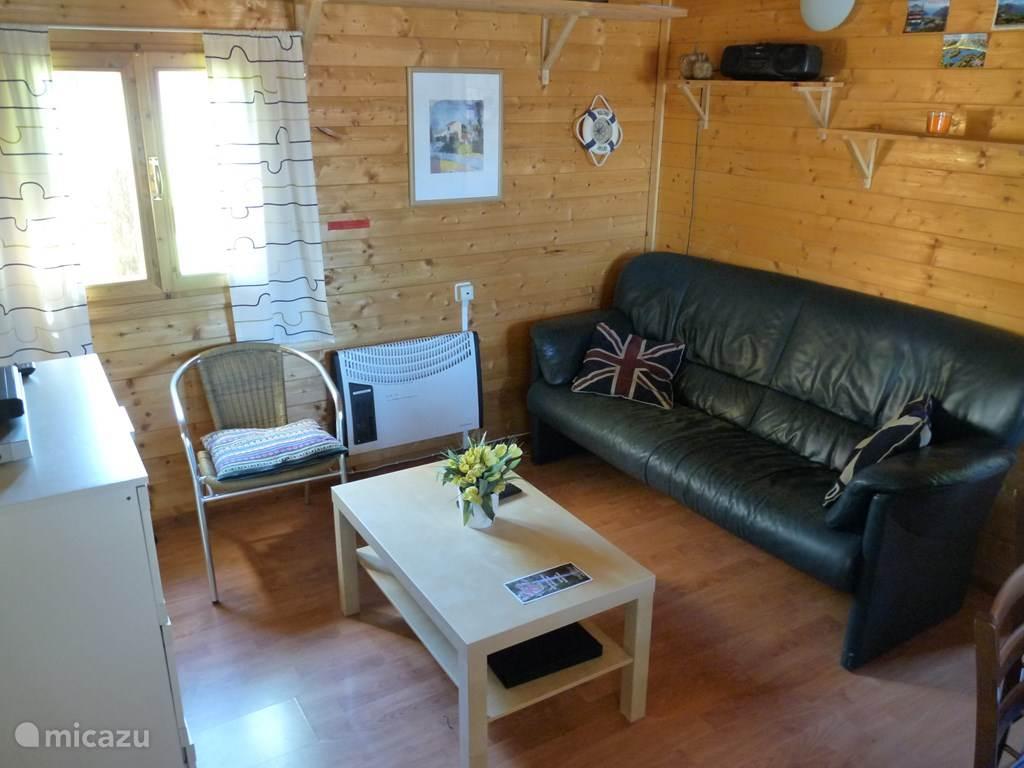 De kamer met heerlijke zitbank