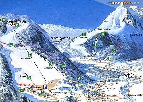 Op 300m afstand is de Kreith Alm gelegen.