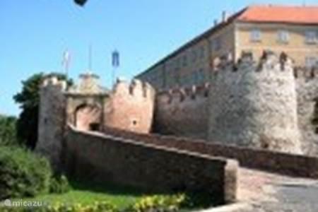 Het kasteel in Siklos