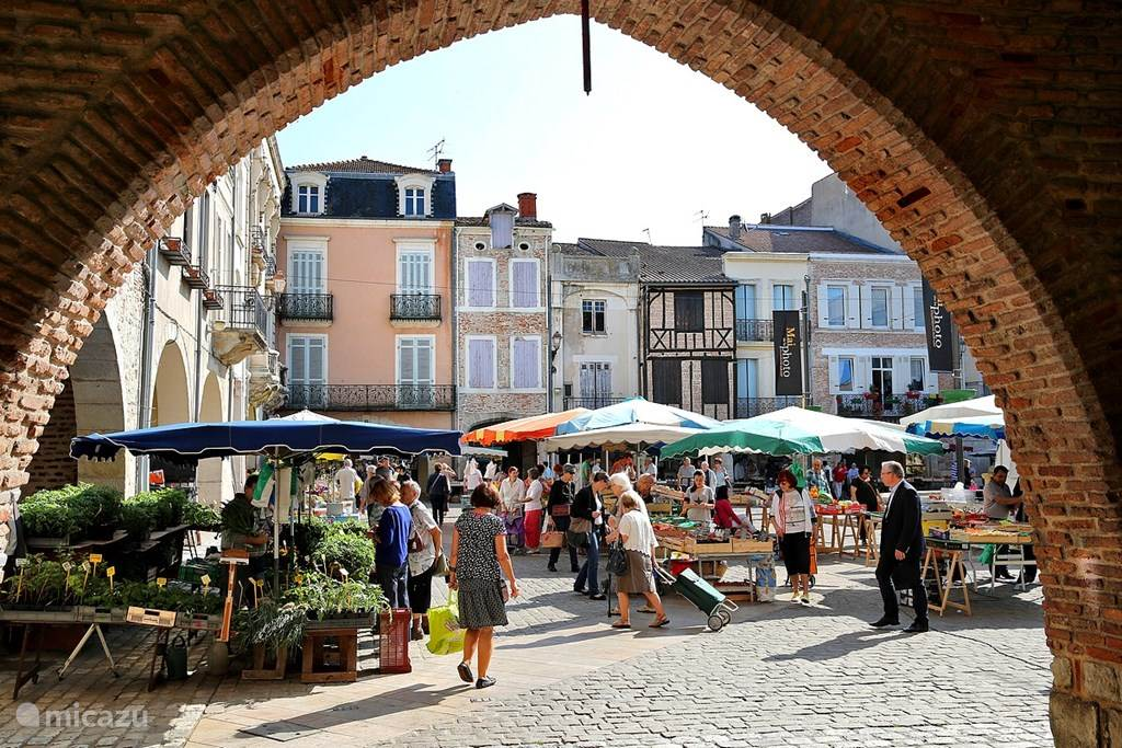 Markt in Villeneuve sur Lot