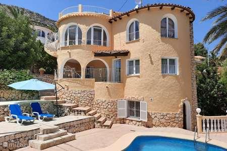 Vakantiehuis Spanje, Costa Blanca, Calpe villa Es Paradis
