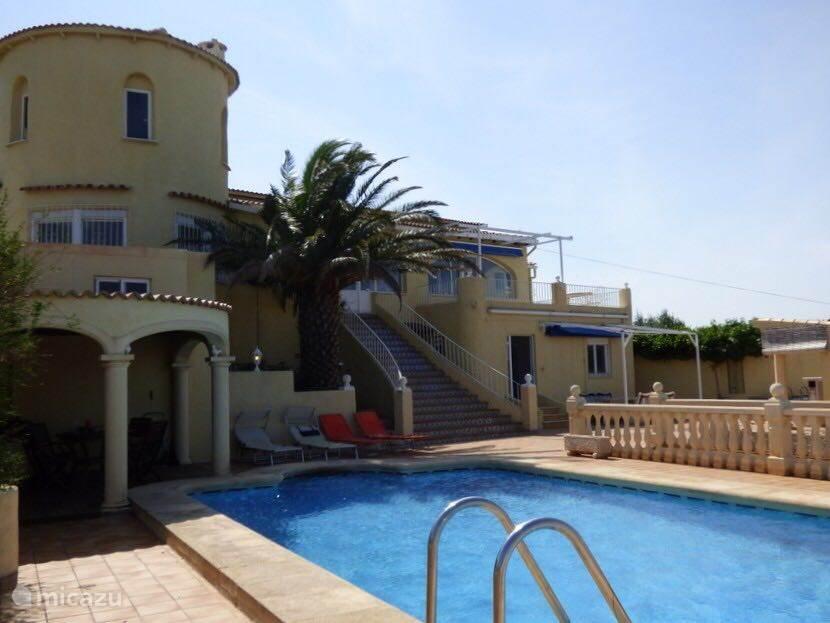 Vakantiehuis Spanje, Costa Blanca, Pedreguer villa Casa en la montaña