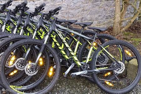 Mountainbike Rental