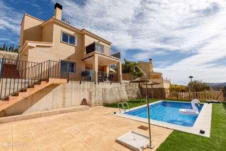 Vakantiehuis Spanje, Costa Blanca, Gata de Gorgos villa Villa  Costa Blanca (prive zwembad)