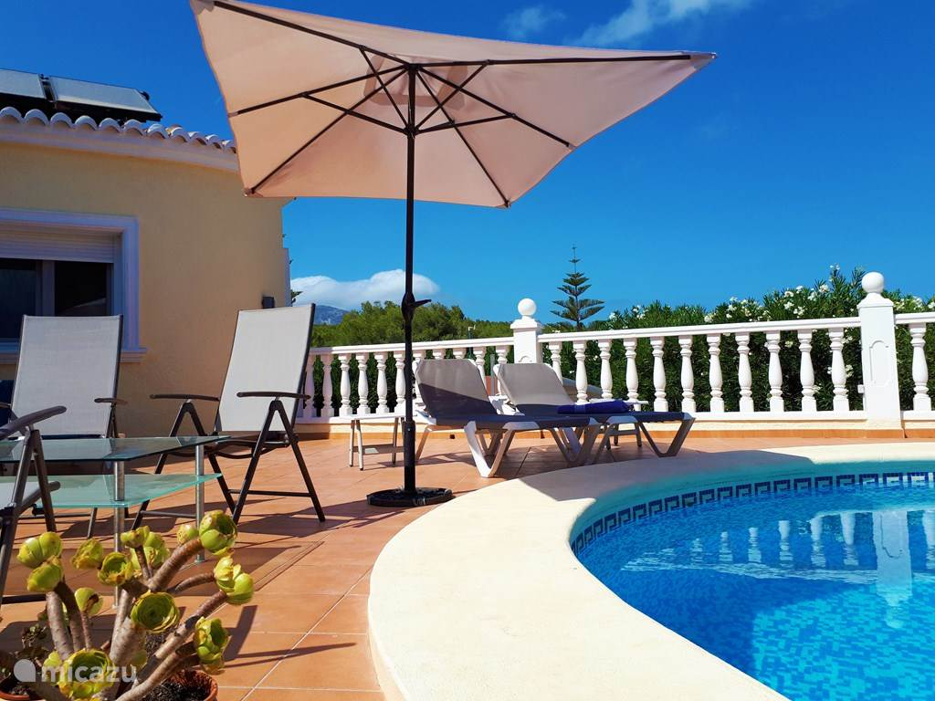 Vakantiehuis Spanje, Costa Blanca, Benitachell villa Villa Myro tussen Moraira en Javea