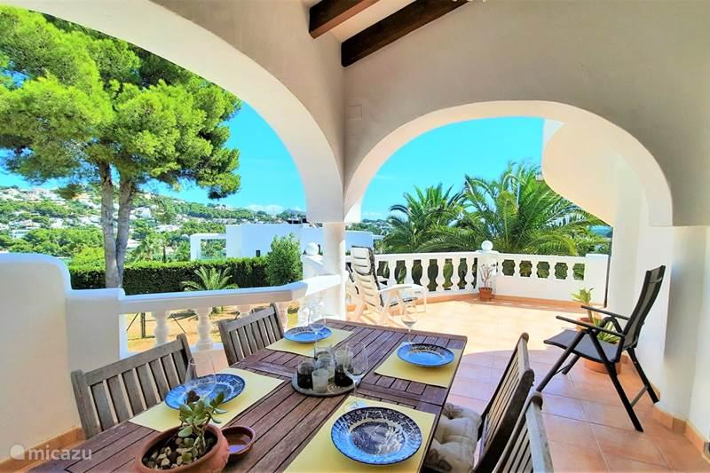 Vakantiehuis Spanje, Costa Blanca, Moraira Vakantiehuis A Casa Leon in Moraira