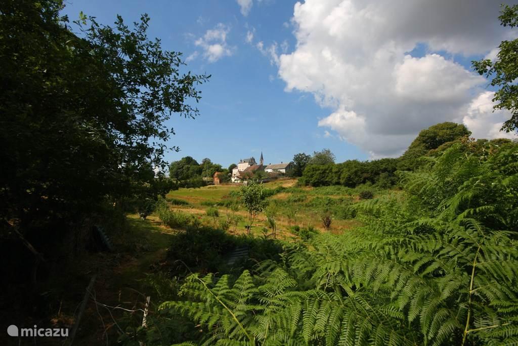 het dorpje Sazeray