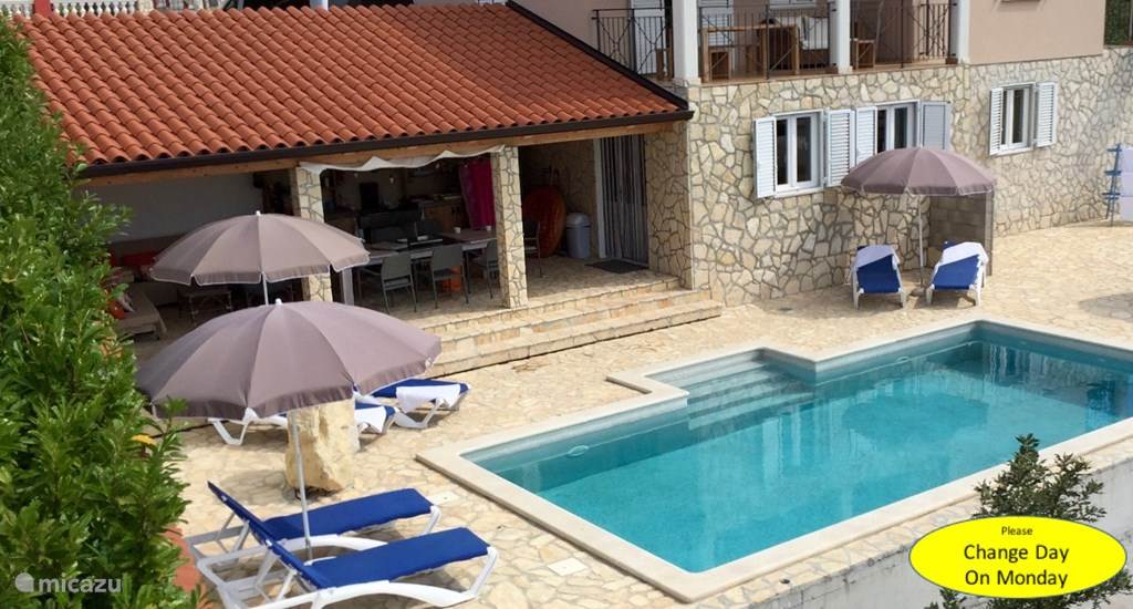 Vacation rental Croatia, Istria, Labin - holiday house Wellness Villa Brisa