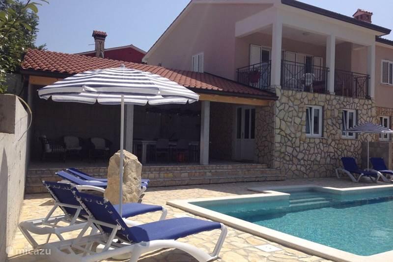 Vakantiehuis Kroatië, Istrië, Labin Vakantiehuis Wellness Villa Brisa