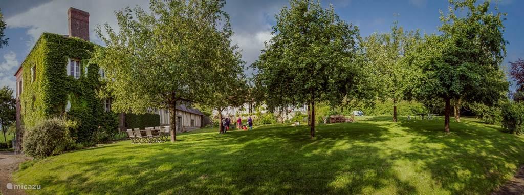 Vakantiehuis Frankrijk, Normandië, Crouttes Vakantiehuis La Cour Mare