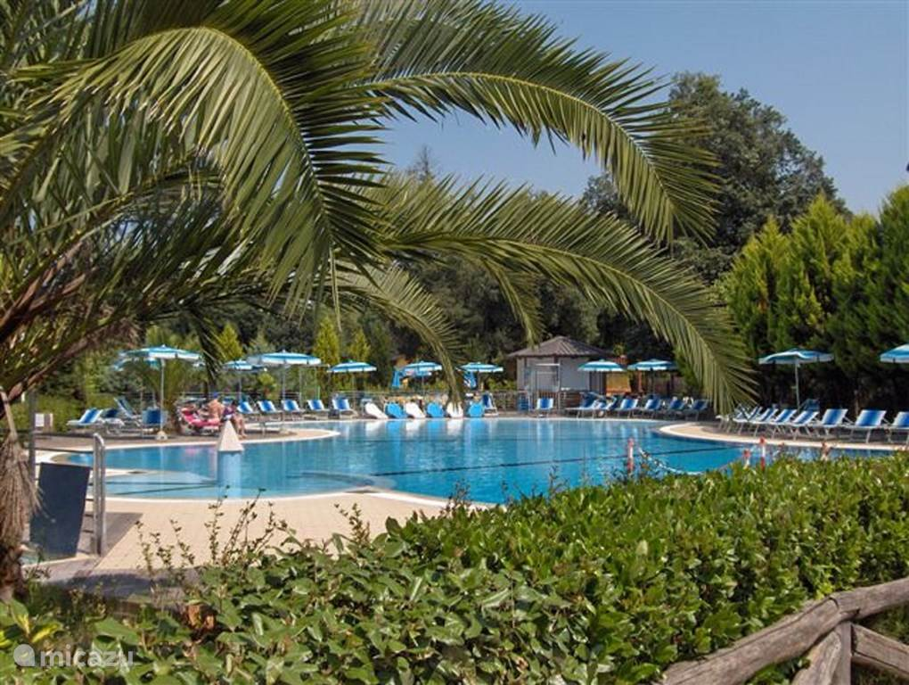 Zwembad Camping Toscane