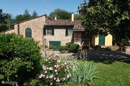 Vakantiehuis Italië, Toscane, Montaione appartement Magnolia