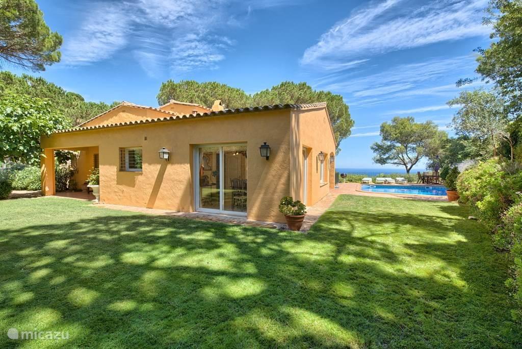 Vakantiehuis Spanje, Costa Brava, Begur Villa Villa Narciso in Begur, met zwembad.