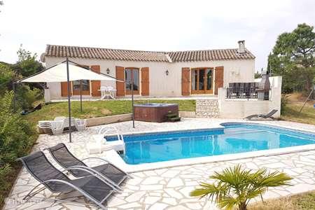 Vakantiehuis Frankrijk, Aude – villa 6-pers. prive villa zwembad jacuzzi
