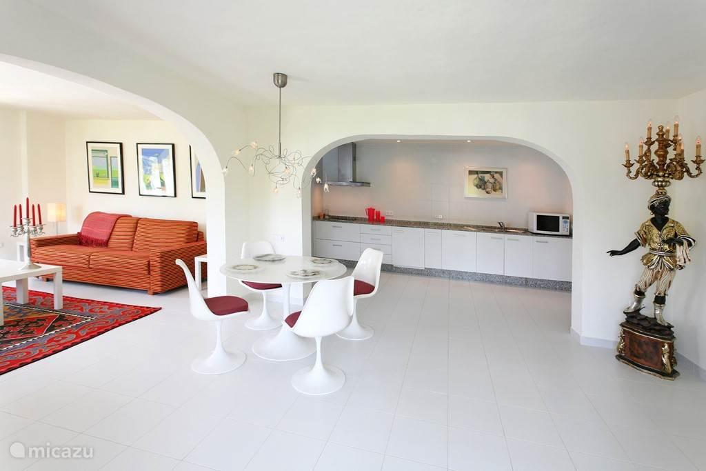 Vakantiehuis Spanje, Costa Blanca, Alfáz del Pi - appartement Casa Barranco Red apartment suite