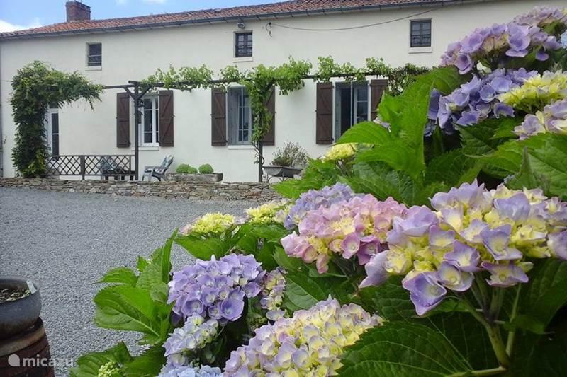 Vakantiehuis Frankrijk, Vendée, Loge-Fougereuse Gîte / Cottage Maison Le Papillon