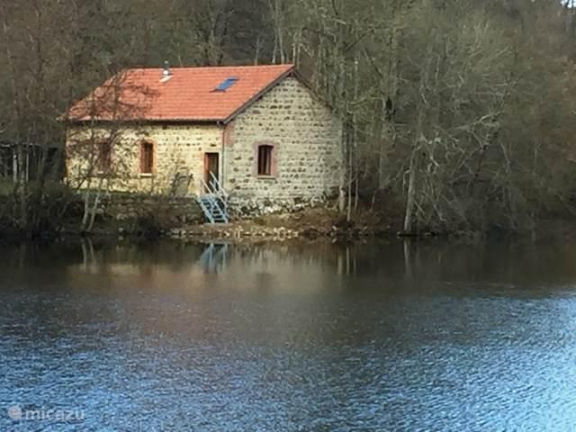 Prive visplaats vakantiehuis