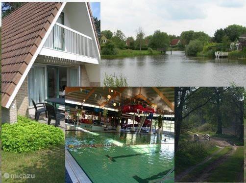 Vakantiehuis Nederland, Groningen – vakantiehuis RuitenAA Comfort 1b incl subtr zwemb