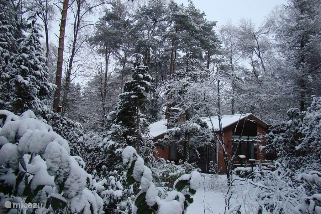 De Keteker in de sneeuw