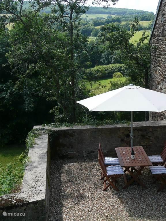 Een van de terrassen