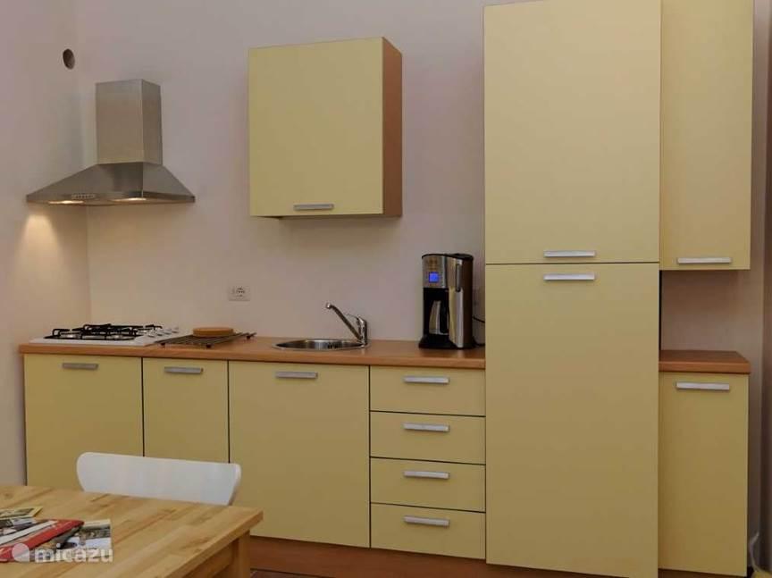 Keuken appartement Giallo