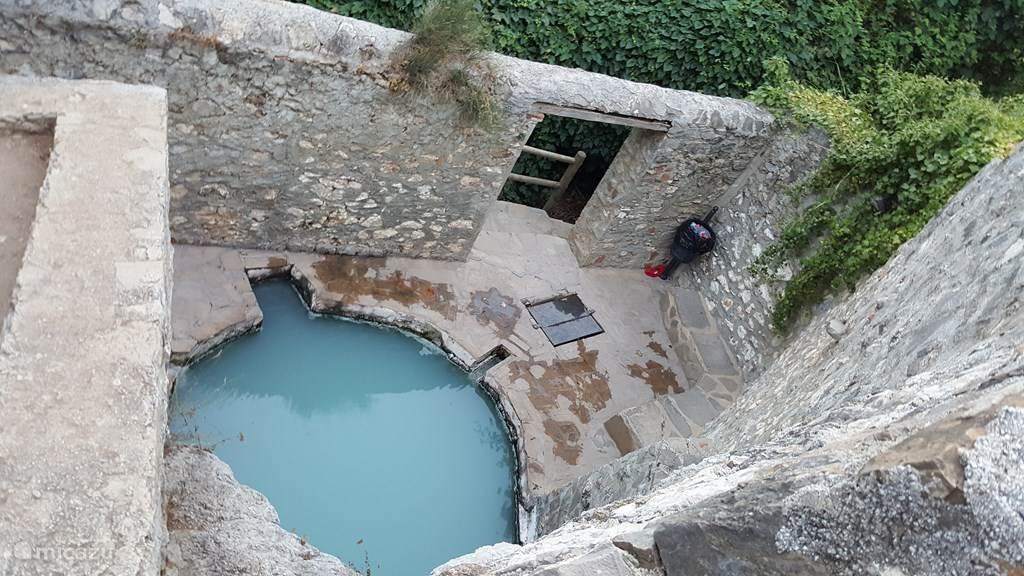 Heilzame zwavelbaden in Baños de Vilo