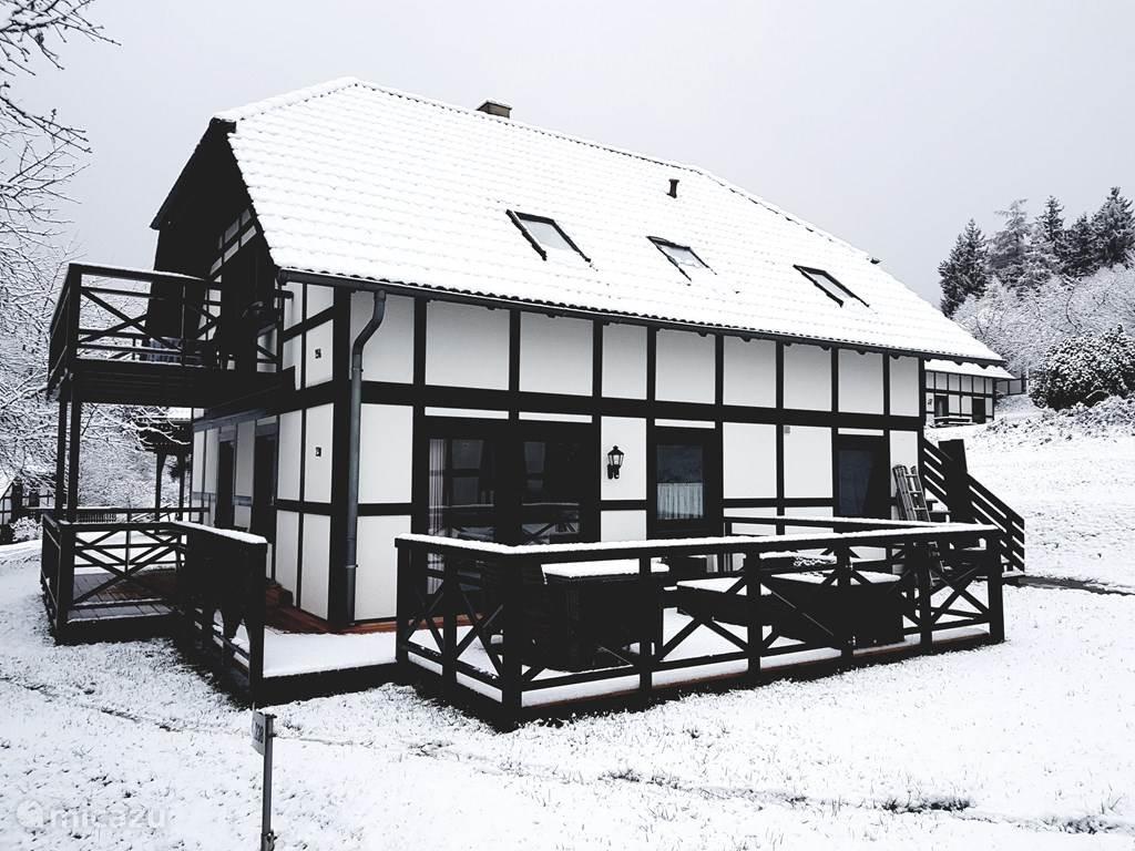 Ons vakantiehuis bevindt zich op het  park in Frankenau