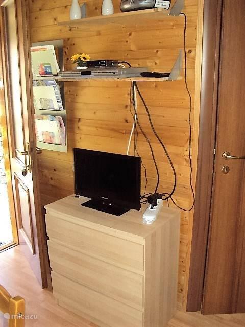 TV met Ned zenders en DVD speler