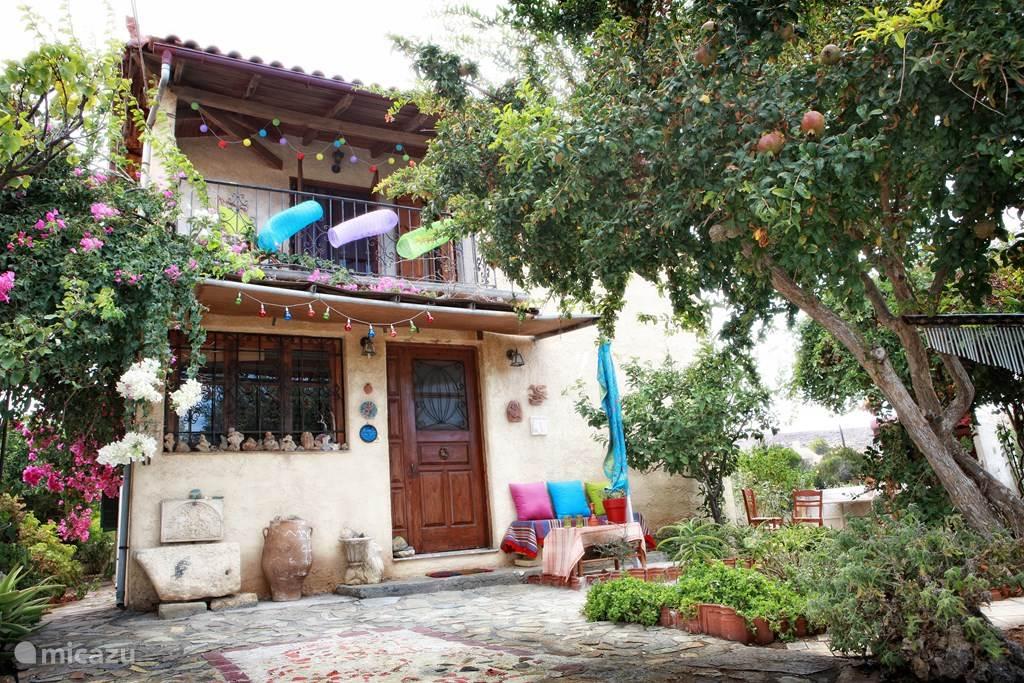 Vakantiehuis Griekenland – vakantiehuis Kokkini Hani House