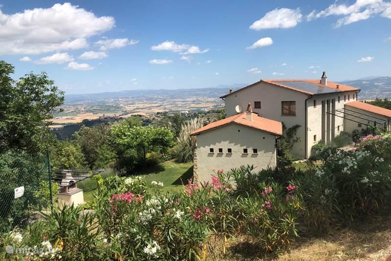 Vakantiehuis Italië, Umbrië, Bettona Studio Casa Montemerlino, studio Espresso