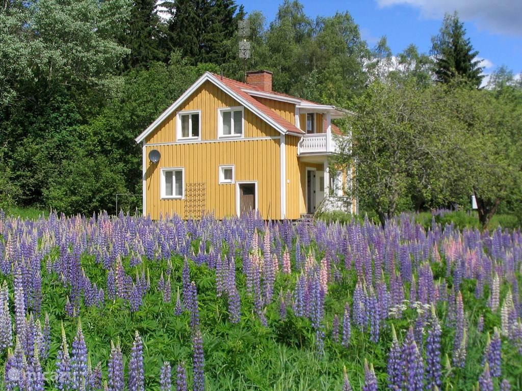 Vakantiehuis Zweden, Värmland, Munkerud Vakantiehuis Gele Huis