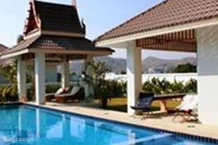 Vakantiehuis Thailand, Centraal-Thailand, Hua Hin – villa Luxe 3 slaapkamer pool villa